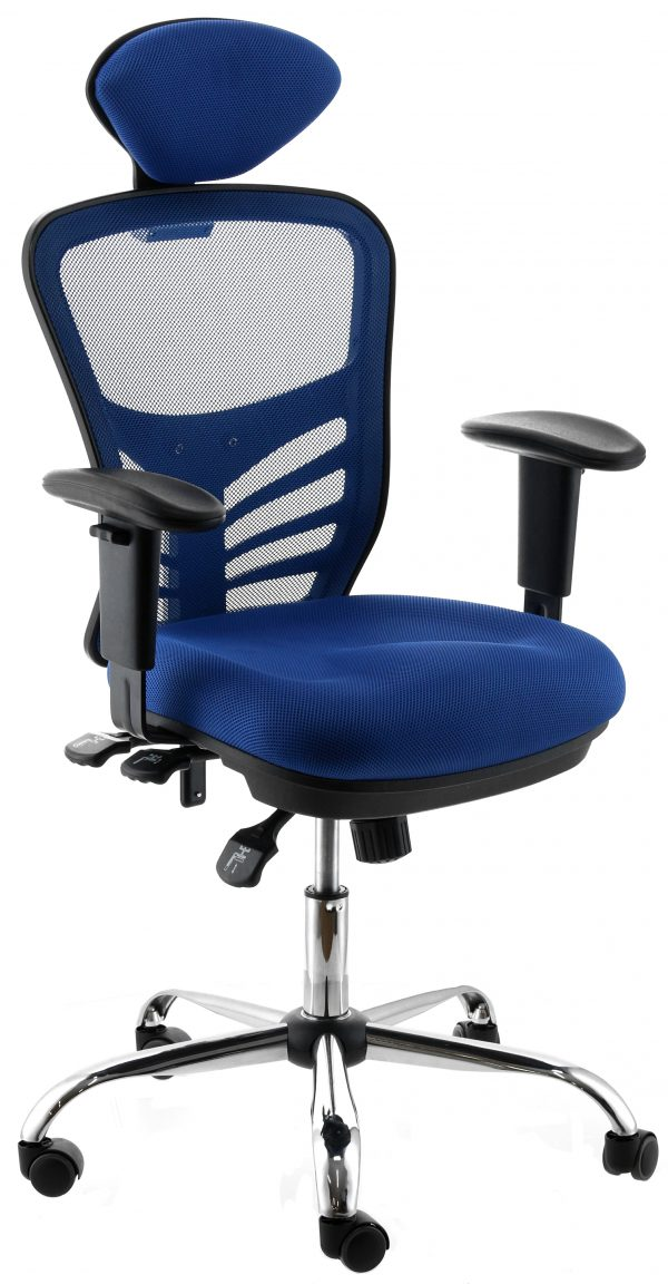 Silla Cannes color azul